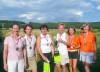 Seniorky 1. místo GC Brno A Stejskalová, Kovářová   2. místo GC Austerlitz Filipová, Hůrková    3. místo SGCC Kořenec A Redlová, Richterová
